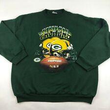 Vintage 90's Green Bay Packers Tultex USA Crewneck Sweatshirt Men's Size XL