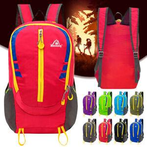 Unisex Outdoor Travel Backpack Hiking Sports Bag Laptop Bag Rucksack Daypack 30L