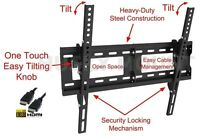 TV Wall Mount Flat Tilt Bracket  26 32 40 42 55 60 65  inch LED LCD Flat Screen