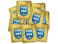 2019 FIFA 365 Soccer Panini Sticker Collection 10 Packs - 50 Stickers