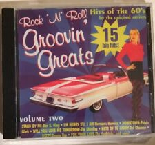 CD Rock 'n' Roll Groovin' Greats Hits of the 60's by the Original Series vol 2