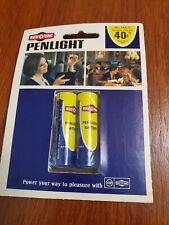 Vintage RAY-O-VAC AA Penlight Batteries Pack Of Two--Sealed