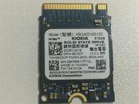 Toshiba KBG40ZNS512G NVMe KIOXIA 512GB SSD PCIe3.0x4  M.2 2230 Solid State Drive
