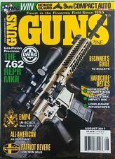 Guns Magazine Aug 2017 Gas Piston Precision The 7.62 REPR MKII FREE SHIPPING sb
