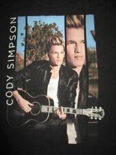 "CODY SIMPSON ""The Acoustic Sessions"" Concert Tour (LG) T-Shirt"