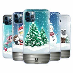 HEAD CASE DESIGNS CHRISTMAS IN JARS SOFT GEL CASE FOR APPLE iPHONE PHONES