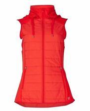 Neues AngebotEX M * S Rot Gym Sports leichte Weste Bodywarmer Größe 14 (i52.108)