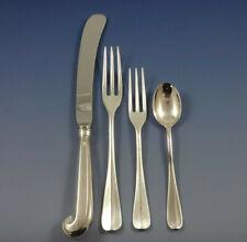 Queen Anne Williamsburg by Stieff Sterling Silver Dinner Flatware Set 32 Pcs
