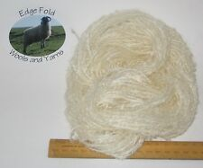 45m 15 x 3m Ecru Cream Pack 78% Mohair Loop Boucle wool yarn Doll Hair Weaving