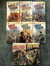 Able Team, Don Pendleton and Dick Stivers, lot of 8 books, #3, 5, and 9-14