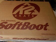 K2 Athena W Inline Women Skate Size 7, 78mm, Brand New + Protective Gear