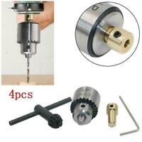Mini motor micro drill chuck 0.3--4mm drill bit DIY tail through hole set 3 U3N6