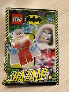 Lego Super Heroes Shazam Minifigure With 2 Power Blasts Foil Pack 212012