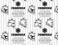 STORM TROOPERS  STAR WARS THE FORCE AWAKENS  100% COTTON FABRIC  CAMELOT COTTONS