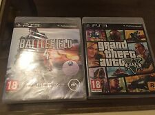 GTA 5 PS3 Good Condition AND Battlefield 4 Brand New Sealed, 1st Class Delivery