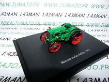 TR76 Tracteur 1/43 universal Hobbies n° 128 MOTOMECCANICA Balilla 1931