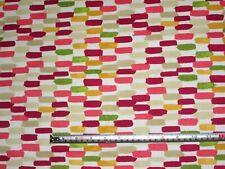 'Batik' Berry, Prestigious Textiles Java Abstract 100% Cotton Fabric, 1.4 mts