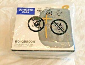 NIB Ultimate Ears UE WONDERBOOM Bluetooth Waterproof Speakers - Stone Gray
