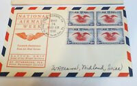 SCOTT #C23 1938 6C EAGLE FIRST DAY COVER