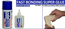 Mitre Joiners Corner Mate Two Part Instant Fast Bonding Super Glue 50 gr /200 ml