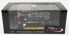 Signature Models 1/43 Scale Diecast PM43710 - 1938 Mercedes Benz G4 - Blue/Black