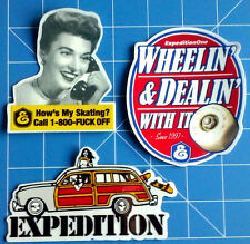 EXPEDITION ONE STICKER PACK  #1 **KIT OUT THE BEER FRIDGE!!**