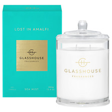 NEW Glasshouse Lost In Amalfi Sea Mist 380g Triple Scented Soy Candle Handmade