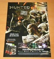 Hunted The Demon's Forge PS3 Xbox 360 Promo Mini Poster Werbeblatt Ad Page