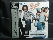 CHICAGO Hot Streets + 1 Japan Mini LP SHM CD 12th 1978 WPCR-13784