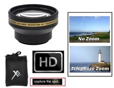 PRO HD 2.2x TELE LENS FOR SONY HDR-CX110 HDR-CX150 HDR-XR150