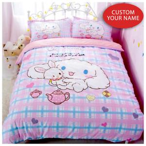 Cinnamoroll Custom Name Bedding Set