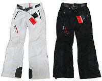 $498 Polo Ralph Lauren RLX Womens Black White Ski Snow Recco Snowboard Pants New