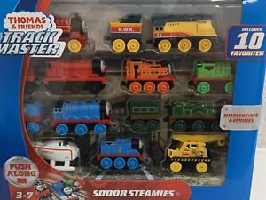 Thomas & Friends Track Master Sodor Steamies Train Engines Set Toy 14 piece set