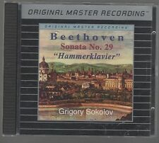MFSL ORIGINAL MASTER RECORDING GRIGORY SOKOLOV BEETHOVEN SONATA No. 29 CD