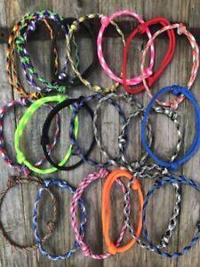 Handmade Adjustable 550 Paracord Friendship Bracelet/Anklet. 151 Colour Designs!