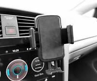Für Apple iPhone XR Auto KFZ Halter Lüftungsgitter Lüftungs HR Halterung