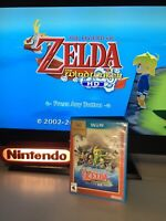 ✅Legend of Zelda: The Wind Waker HD Nintendo Selects Wii U TESTED! SEE PICS!