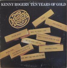 Kenny Rogers Ten Years Of Gold 1977 Vinyl LP United Artists Records UA-LA835-H