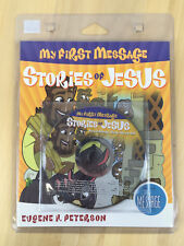 Stories of Jesus My First Message Read-Along Sing-Along Book & CD 2007 - New