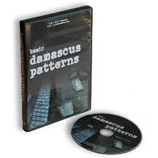 Basic Damascus Patterns with Mike Norris (DVD) / bladesmithing dvd /knife making
