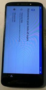 [BROKEN] Motorola Moto XT-1924-6 (Cricket) 16GB Black Excellent Used LOCK
