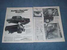 1983 GMC Sierra Vintage Pro-Street Article Fleetside Shortbed