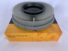 Kodak Carousel Transvue 140 Projector Slide Tray w/ box Vintage 1980s