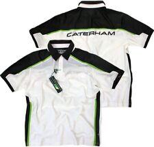 Caterham Team Formula 1 HPE Performance Polo Shirt Tea F1 Men's Shirt