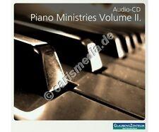 CD: PIANO MINISTRIES Vol. 2 - Instrumental - Glaubenszentrum Bad Gandersheim