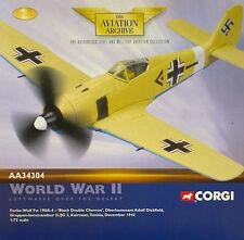 CORGI aa34304 Focke-Wulf Fw 190A Luftwaffe II / JG 2 Richthofen, ADOLF dickfield