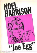 "Noel Harrison ""JOE EGG"" Mitzi Hoag / Peter Nichols 1968 Souvenir Program"