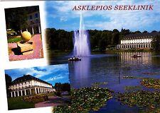 Bad Salzungen , Asklepios Seeklinik ,Ansichtskarte, 2014 gelaufen