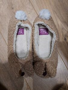 Totes rabbit slippers 6 - 8 BNWOT