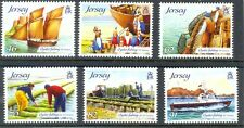 Jersey-Oyster Fishing set of 6 mnh -Oct-2014 issue